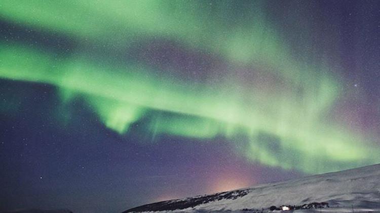 VIDEOS, FOTOS: Islandia 'apaga la luz' para disfrutar de una espectacular aurora boreal