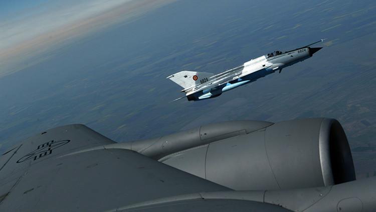 Rumanía reemplaza sus viejos aviones de combate soviéticos MiG-21 por F-16 usados