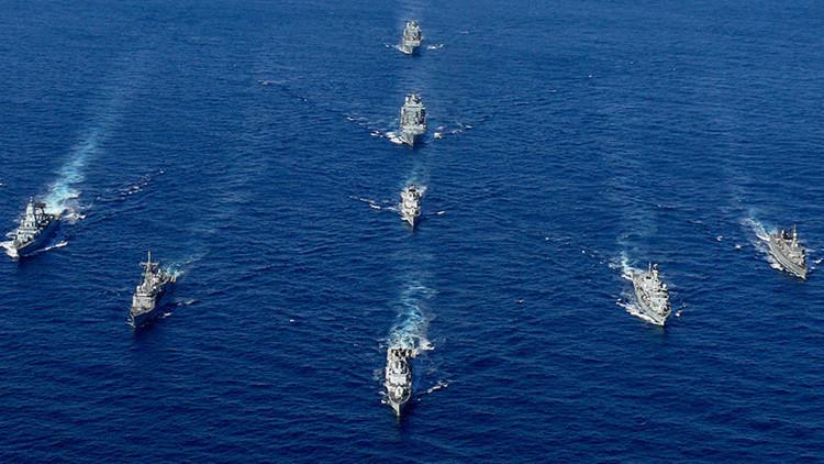 ¿Restaurando lazos?: Irán e Italia realizan ejercicios militares conjuntos en el estrecho de Ormuz