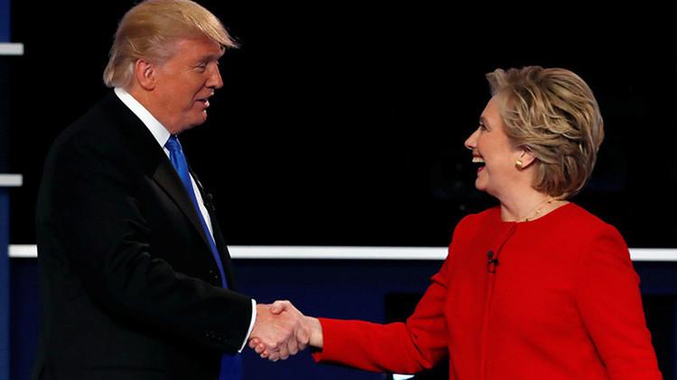 ¿El papel de Trump es facilitar la victoria de Clinton?
