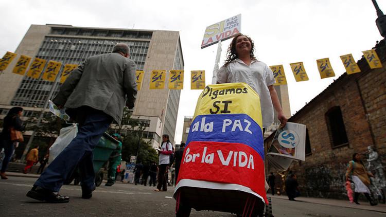 """Encuestas en Colombia vaticinan la victoria del """"sí"""" en el plebiscito por la paz"""