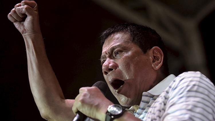 """""""Soy el Hitler filipino"""": Duterte promete exterminar a todos los drogadictos del país (VIDEO)"""