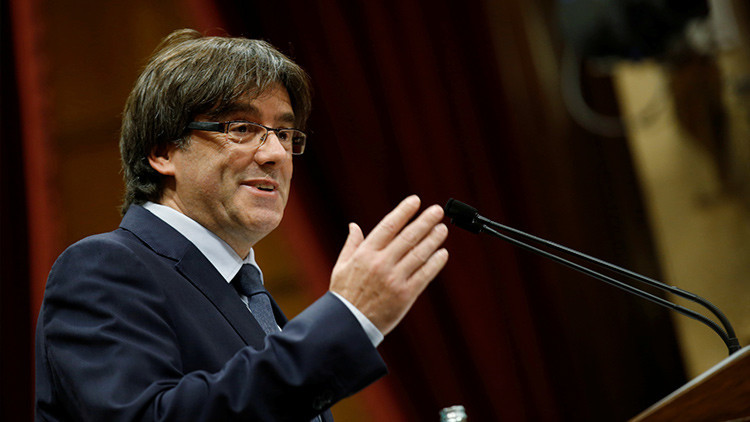 Cataluña: Puigdemont sitúa la fecha de la celebración del referéndum