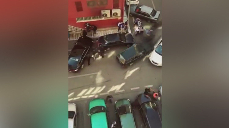 'Rápido y furioso': Un preso turco al volante con un machete choca con 18 coches (VIDEO)