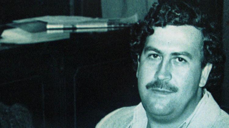 El narcotraficante Pablo Escobar