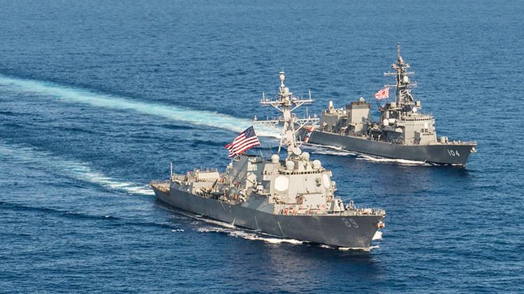"""Pekín advierte al 'intruso' Japón del peligro de """"jugar con fuego"""" en el mar de la China Meridional"""
