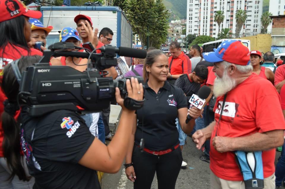 TvsPueblo es uno de los más de 500 medios comunitarios que funcionan en Venezuela.