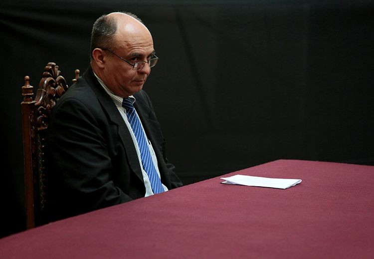 El ministro de Defensa de Bolivia, Reymi Ferreira