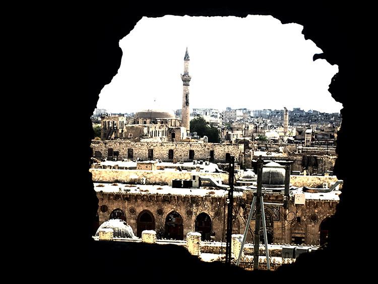 La zona antigua de la ciudad de Alepo.