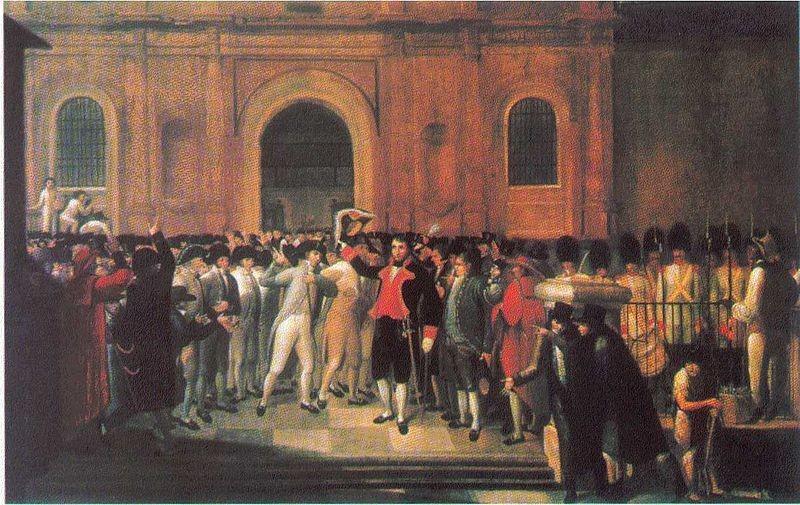 Eventos de la Revolución del 19 de abril de 1810