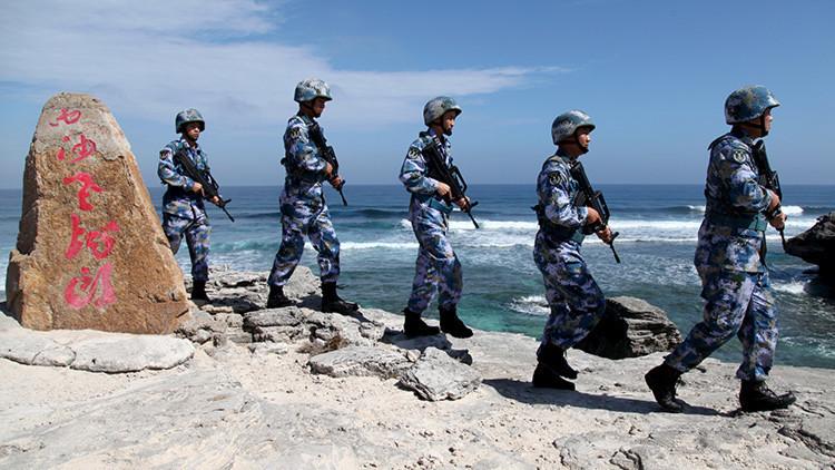 Pekín realiza ejercicios en el mar de la China Meridional