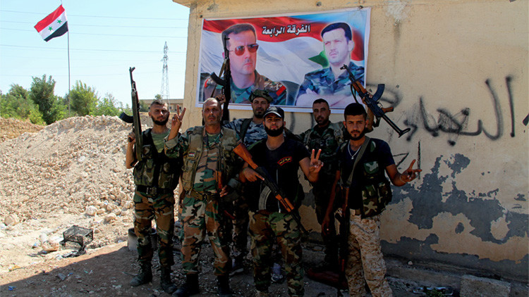 Soldados sirios en Alepo, 09.09.2016