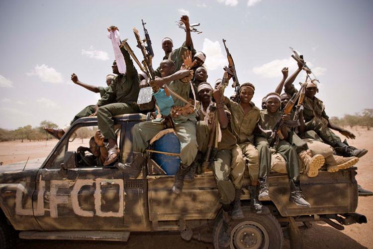 Rebeldes chadianos