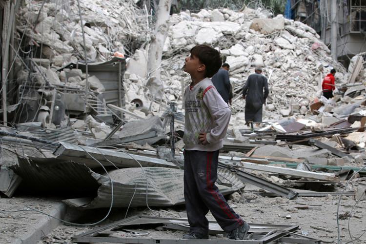 Alepo, 23 de septiembre de 2016