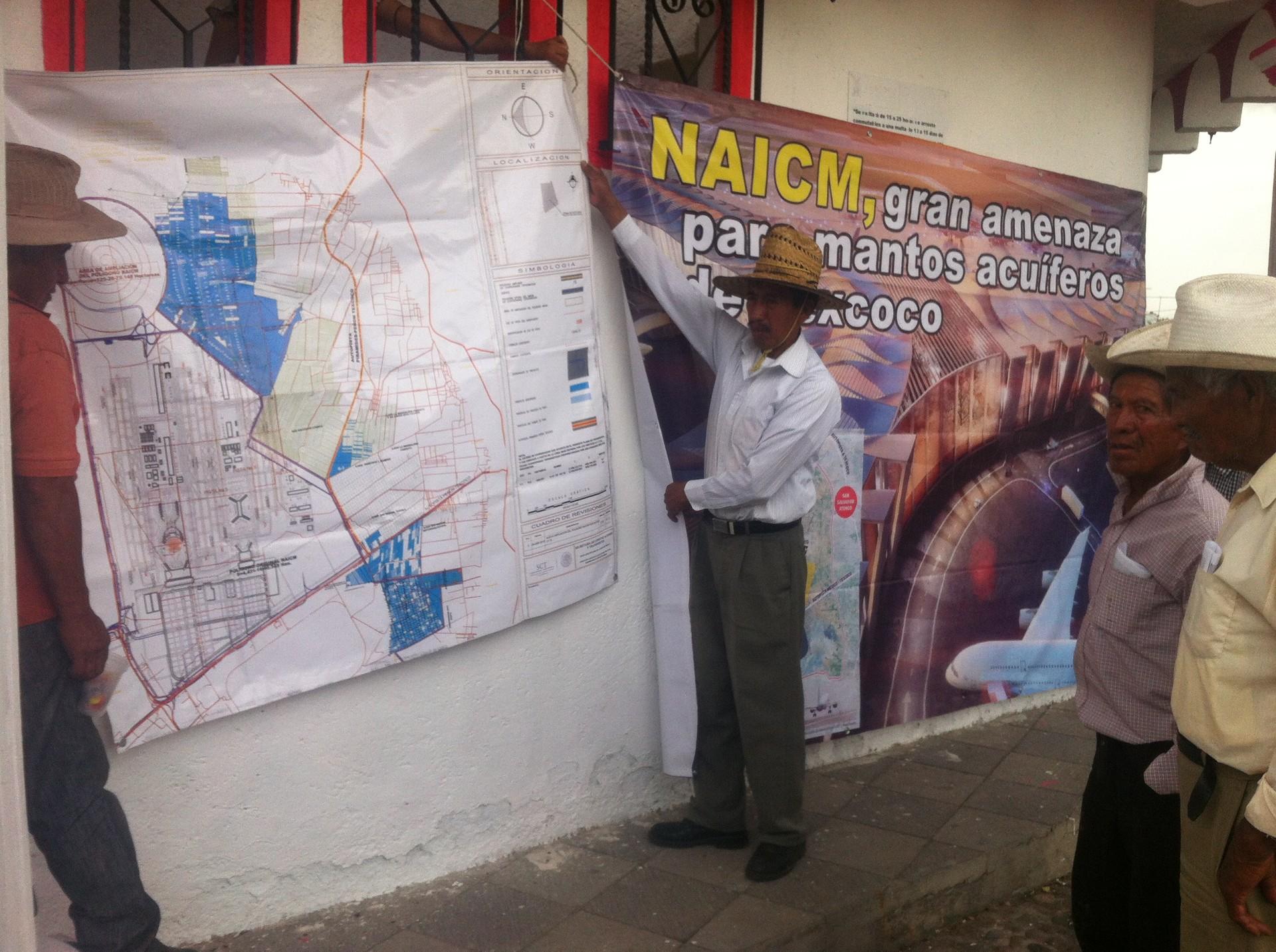Ejidatarios muestran a RT cómo las antiguas tierras del Lago de Texcoco serían afectadas con el NAICM.