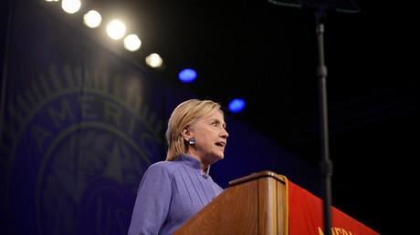 Hillary Clinton en Cincinnati.