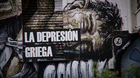La depresión griega