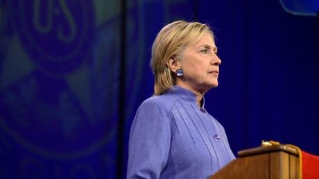 La candidata demócrata a la presidencia estadounidense, Hillary Clinton.