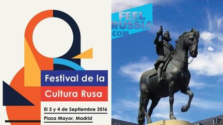 Imagen promocional del festival FeelRussia en Madrid