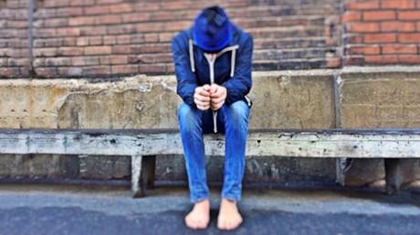 Un adolescente pobre