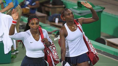 Las tenistas estadounidenses Serena y Venus Williams