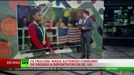 La WADA autorizó consumo de drogas a deportistas de EE.UU.