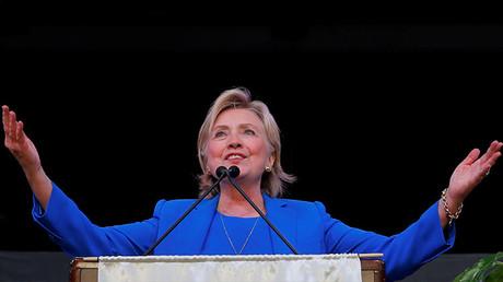 La candidata demócrata a la presidencia de EE.UU.