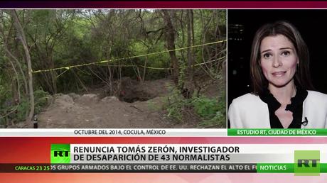 México: Renuncia el investigador de la desaparición de 43 normalistas