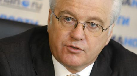 El embajador de Rusia ante la ONU, Vitali Churkin