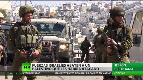 Fuerzas israelíes abaten a un palestino que les habría atacado