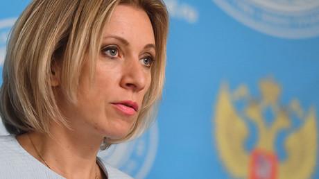 Portavoz del Ministerio de Asuntos Exteriores de Rusia, María Zajárova