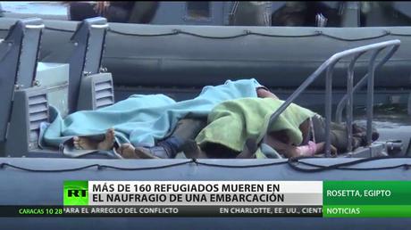 Egipto: Más de 160 refugiados mueren en el naufragio de una embarcación