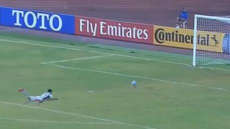 El extraño y sospechoso gol que le hicieron a un portero de Corea del Norte