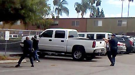 Autoridades de Policía de la ciudad de El Cajón ( Califormia, EE.UU.)