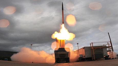 El sistema de misiles antibalístico móvil THAAD de fabricación estadounidense