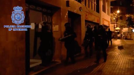 Captura de pantalla / Vídeo de la operación policial