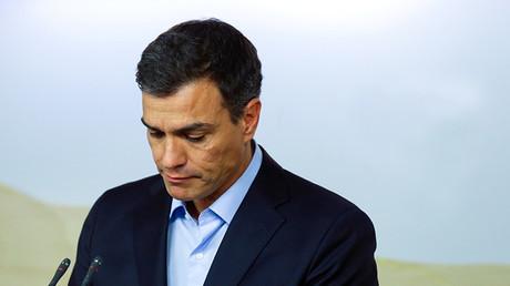 Pedro Sánchez, secretario general del Partido Socialista (PSOE)