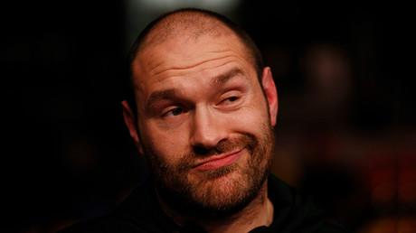 El boxeador británico Tyson Fury