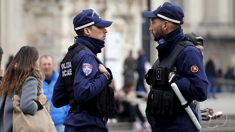 Entrañable: La Policía italiana actúa de forma contundente con una mujer que roba comida
