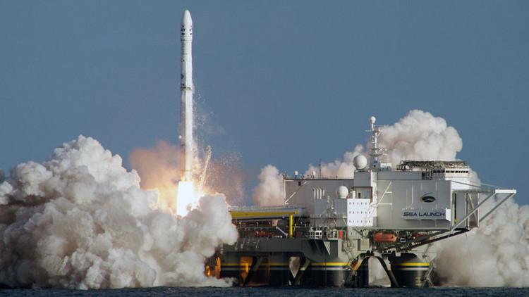 Corporación aeroespacial rusa prepara un nuevo cohete para plataformas de lanzamiento marítimo