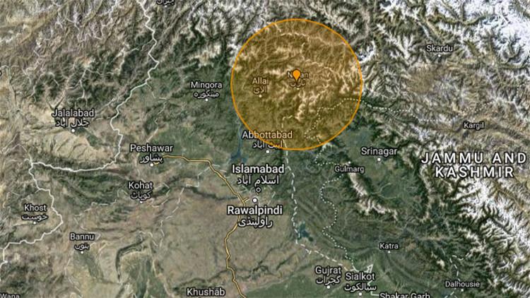 Un fuerte sismo se deja sentir en la capital de Pakistán