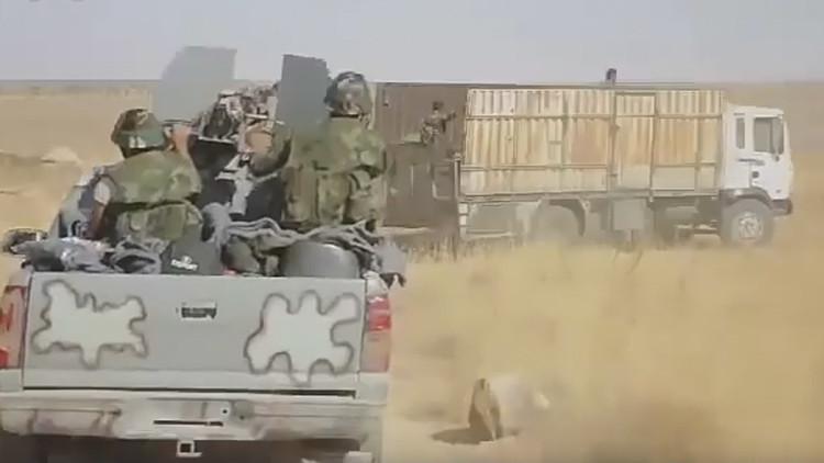 VIDEO: Así el Ejército sirio rompe las defensas de los terroristas en el norte de Hama