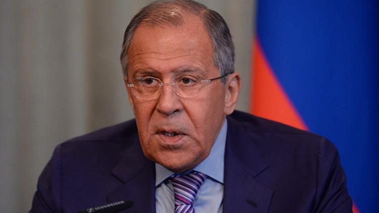 """Lavrov a EE.UU.: """"No se puede tratar con indulgencia al Frente al Nusra"""""""