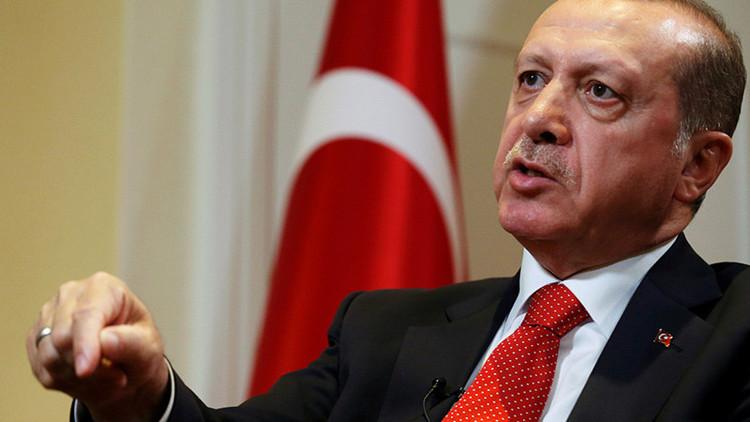 """Presidente de Turquía: """"EE.UU. lleva una política de doble rasero en Siria"""""""