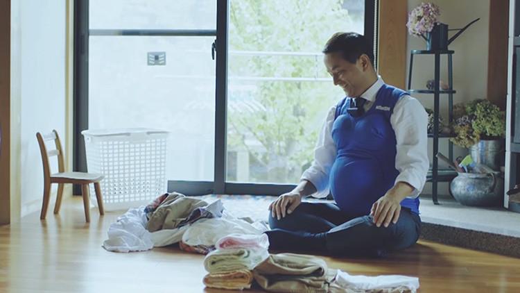 Los gobernadores japoneses se quedan embarazados por una buena causa (video)