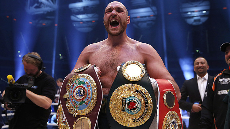 El campeón mundial de peso pesado Tyson Fury anuncia su retirada