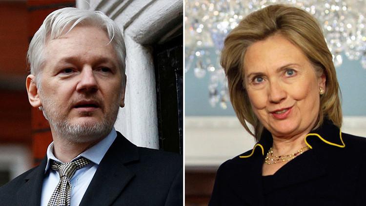 """Hillary Clinton, sobre Julian Assange: """"¿No podemos atacar con un dron a este tipo?"""""""