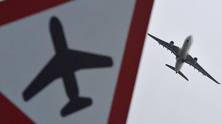 Esta escalofriante imagen no le ayudará a superar el miedo a volar