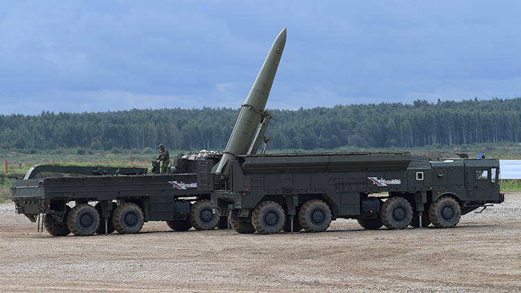 Rusia pone en alerta una brigada de misiles Iskander en el oeste del país