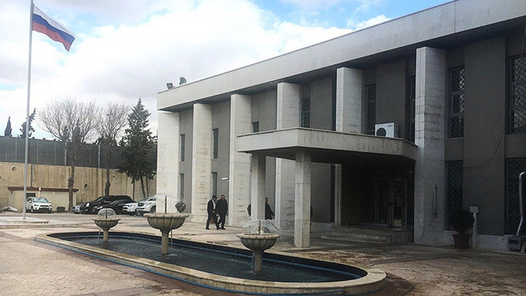 La Embajada de Rusia en Damasco sufre un ataque con mortero